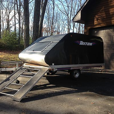 triton enclosed snowmobile trailer