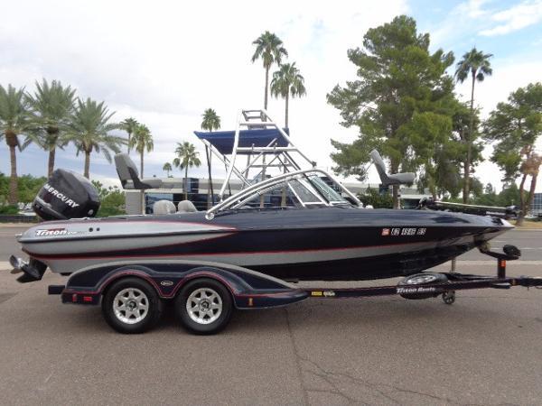 Triton sf 21 boats for sale for Triton fish and ski