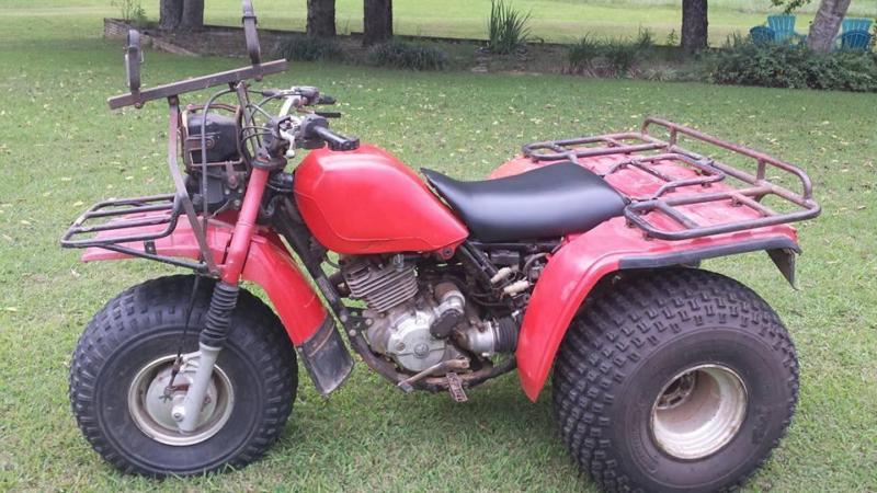 1985 Honda Big Red 250cc 3 Wheeler. 2 Wheel Drive. Strong & Fast