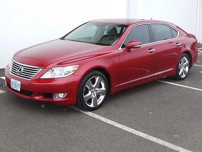 Lexus : LS L 2012 lexus ls 460 l one owner excellent