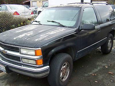 Chevrolet : Tahoe Base Sport Utility 2-Door 1996 chevrolet tahoe base sport utility 2 door 5.7 l