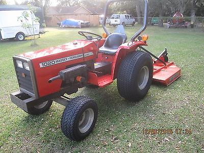 Massey Ferguson 1020 332 Hours LIKE NEW Tractor Bush Hog 3Cyl Diesel 21HP 2WD