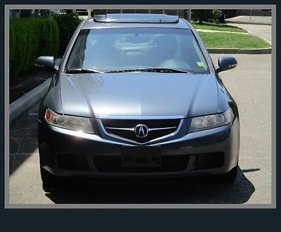 Acura : TSX Base Sedan 4-Door 04 acura only 64 k miles clean fax leather moonroof