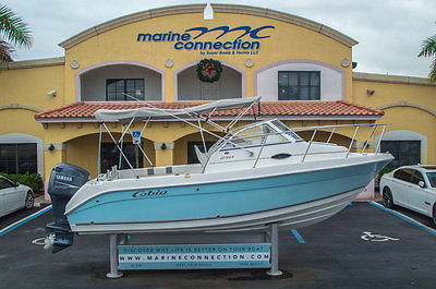 Used 2004 Cobia 210 Walkaround With a 200HP Yamaha Outboard, In Mint Shape!!!
