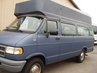 Dodge : Ram Van 3500 Hightop 1997 dodge wheelchair van good mechanical condition