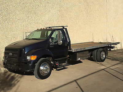 Ford : Other Pickups XL 2006 ford f 650 rollback wrecker wheel lift international turbo diesel low miles