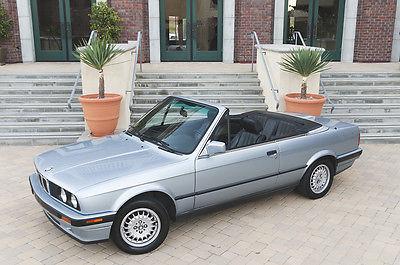 BMW : 3-Series Base Convertible 2-Door 1992 bmw e 30 318 i convertible glacier blue