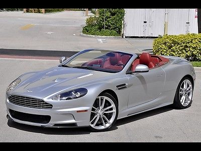 Aston Martin : DBS Volante! Best Color! 4K Miles! $293490 MSRP! 2010 aston martin dbs volante best color 4 k miles 293 490 msrp loaded