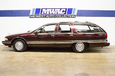 Buick : Roadmaster Estate Collectors Edition WOODGRAIN DELETE~RARE~1 OWNER~ONLY 23K MLS~LT1 350