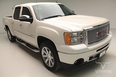 GMC : Sierra 1500 Denali Crew Cab 2WD 2013 navigation sunroof leather heated cooled v 8 vortec we finance 26 k miles