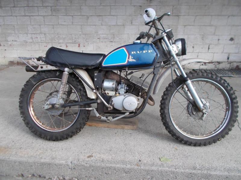 1970 rupp L100 minibike