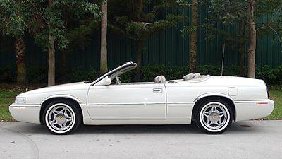 Cadillac : Eldorado COACH BUILDERS LIMITED CONVERTIBLE 1999 cadillac eldorado drop top convertible by coach builders limited a must see
