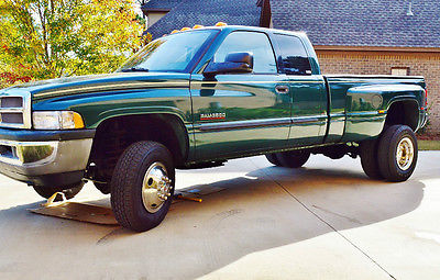 Dodge : Ram 3500 QUAD CAB - FOUR DOOR 2002 dodge ram 3500 4 x 4 5.9 cummins turbo diesel free shipping