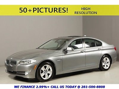 BMW : 5-Series 2012 528i NAV SUNROOF REARCAM LEATHER SPORT PREM 2012 bmw 2012 528 i nav sunroof rearcam leather sport premium 535 i black warranty