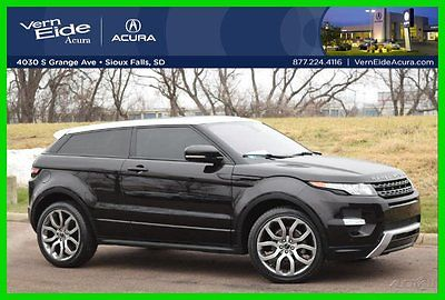 Land Rover : Range Rover 2012 RANGE ROVER Evoque **DYNAMIC** NAVI, PANO 4WD 2012 range rover evoque dynamic navi back up cam pano roof meridian 4 wd