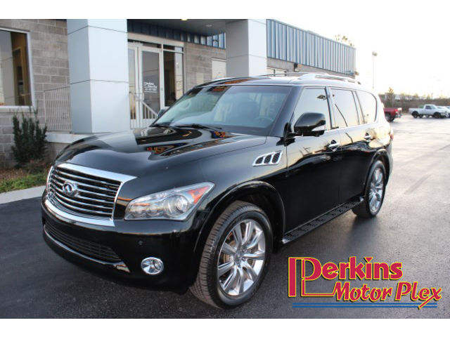Infiniti : QX56 Luxury 4 wd navigation heated leather sunroof dual dvd power hatch 22 inch wheels