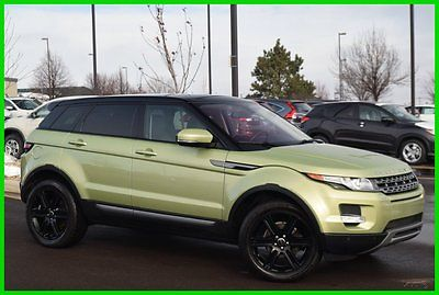 Land Rover : Range Rover 2012 Range Rover Evoque Pure Plus Turbo 4WD 2012 range rover evoque pure plus turbo auto 4 wd meridian pano heated leather