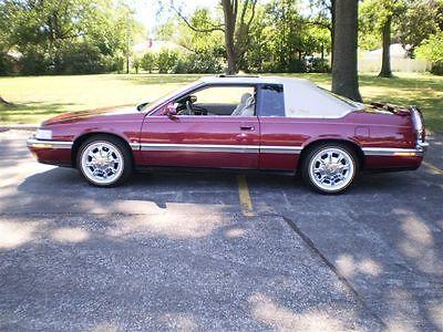 Cadillac : Eldorado Sports Coupe 1993 cadillac eldorado biarritz sports coupe 39 k miles 13995