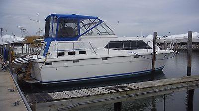 1978 Trojan Tri-cabin 36' Motor Yacht TEAK! - slip paid through 5/2016