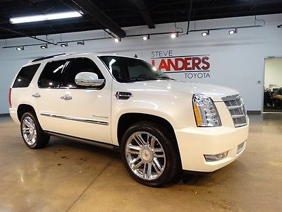 Cadillac : Escalade Platinum Edition PLATINUM AWD NAVIGATION DVD SUNROOF BLIND SPOT LOADED LEATHER CALL NOW