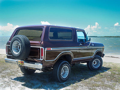 1979 Ford Bronco Cars For Sale