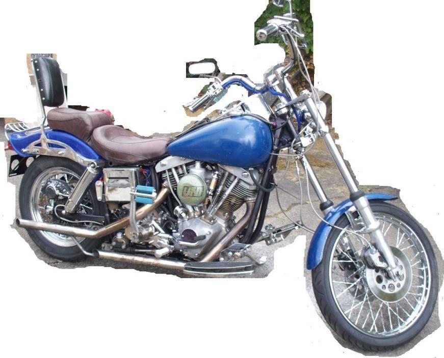 1975 Fxe Harley Davidson: 1975 Harley Davidson Shovelhead