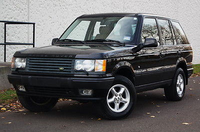 Land Rover : Range Rover 4dr Wagon SE 4 x 4 leather suv se 4 wd runs drives great extra clean