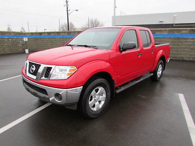 Nissan : Frontier 4WD Crew Cab SWB Automatic SE 4 wd crew cab swb automatic se 4 dr truck automatic gasoline v 6 cyl red