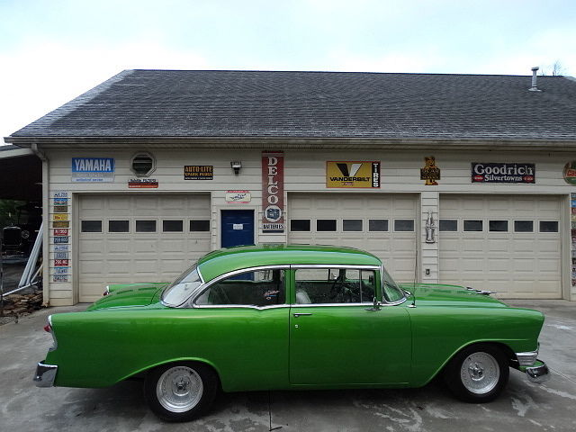 Chevrolet : Bel Air/150/210 1956 chevy brillant paint custom interior