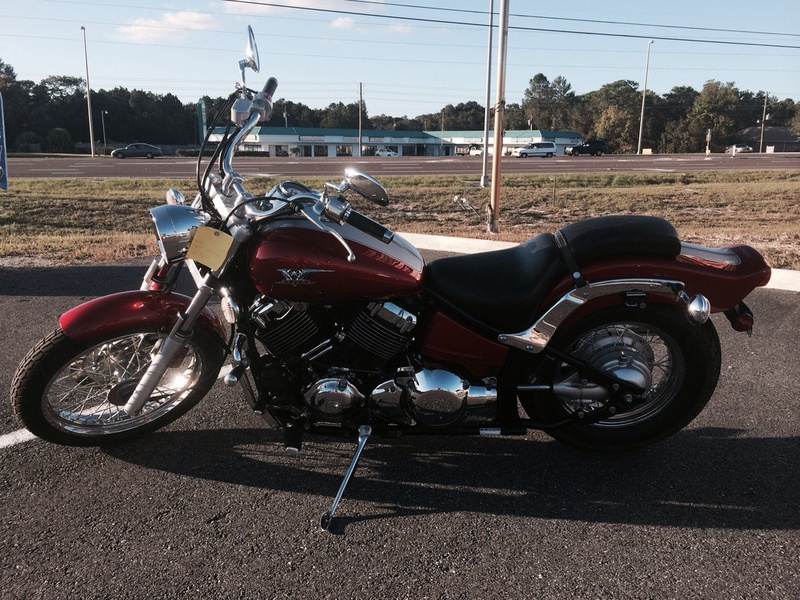 Yamaha v star custom motorcycles for sale in spring hill for 1973 yamaha tx650
