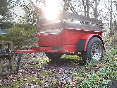 Classic 1930's Ford Pickup Bed Trailer
