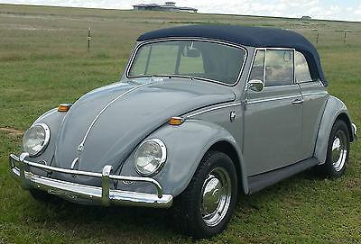 Volkswagen : Beetle - Classic cabriolet vw beetle convertible original no rust the car is in Denver Colorado