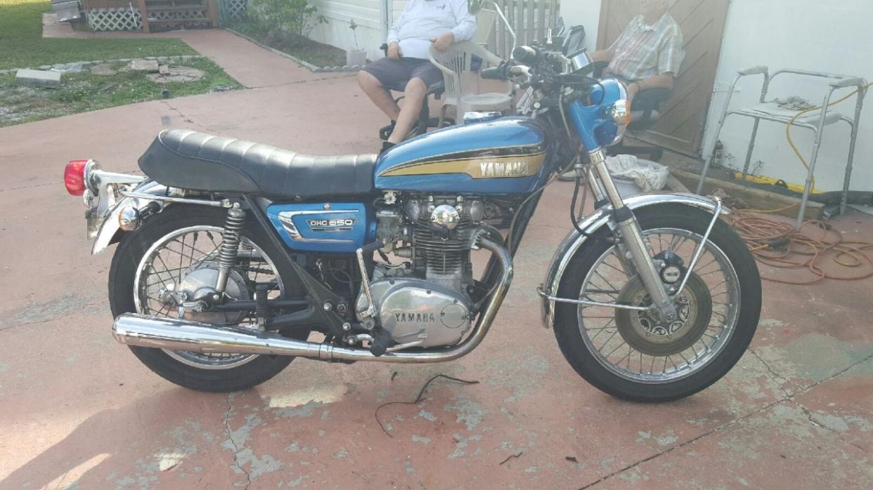 Yamaha tx650 motorcycles for sale for 1973 yamaha tx650