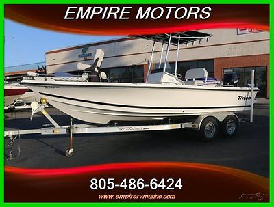 2010 Triton 218 Bay Explorer Sea Boss Boat Fishing Ranger Skeeter center console