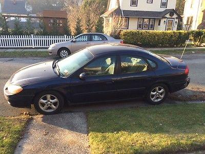 Ford : Taurus SES 2000 ford taurus ses looks goods runs better 158 k blue 4 dr