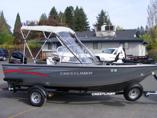 2014 Crestliner 1650 Fish Hawk