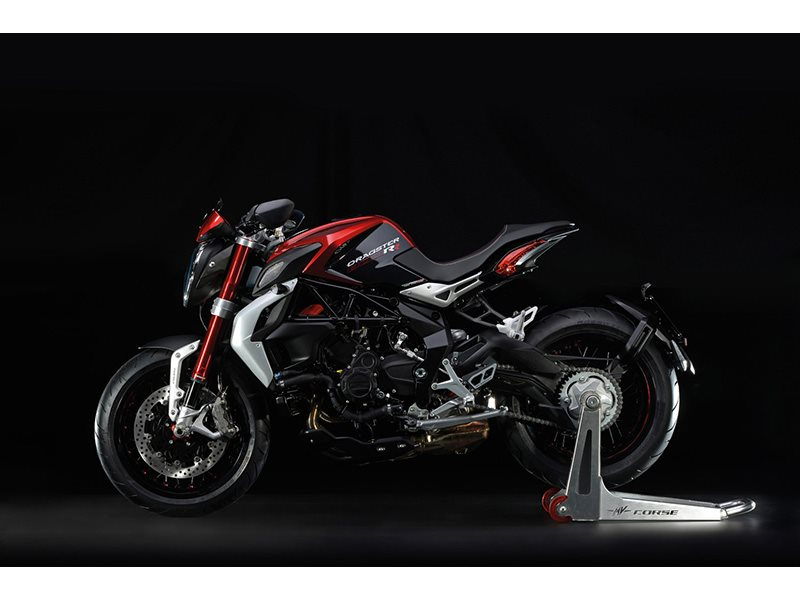 2016 Mv Agusta Brutale 800 Dragster RR - Pearl Shock Red / Carbon Meta