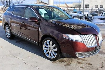 Lincoln : MKT AWD 2010 lincoln mkt awd salvage wrecked repairable exports welcomed save l k
