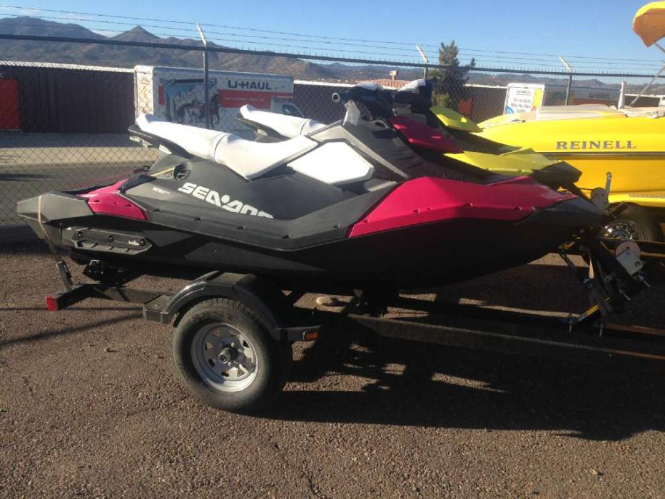 2015 Sea Doo/Bombardier Spark 3up 900 H.O. ACE