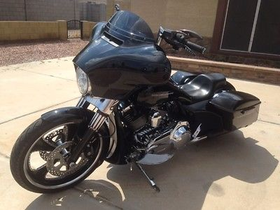 Custom Built Motorcycles : Other 2014 street glide custom black paul yaffe bagger