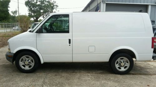 Chevrolet : Astro Cargo Van One Owner, Central Florida Company Cargo Van,111 WB, Low Miles,Fleet Maintained