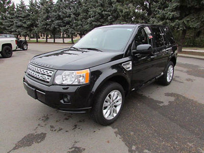 Land Rover : LR2 AWD 4dr HSE AWD 4dr HSE Low Miles SUV Automatic Gasoline 3.2L STRAIGHT 6 Cyl BLACK