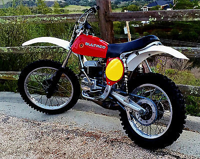 Bultaco : Pursang Bultaco Pursang 370 1977 Model 193 Vintage Motocrosser Twin Shock Down Pipe