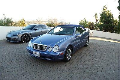 Mercedes-Benz : CLK-Class convertible 2001 mercedes benz clk 320 cabriolet super nice navigation heated seats