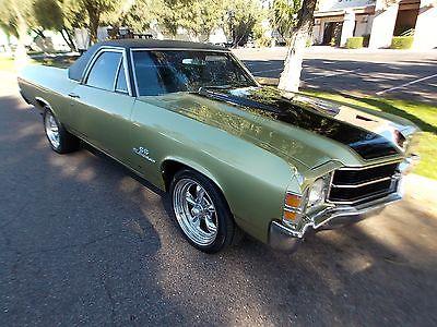 Chevrolet : El Camino SS 1971 chevrolet el camino ss 454