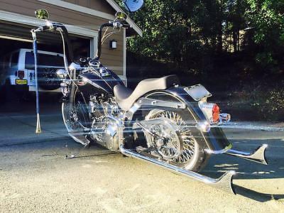 Harley-Davidson : Softail 2006 harley davidson softail deluxe flstni bagger vicla bobber lowrider cruiser