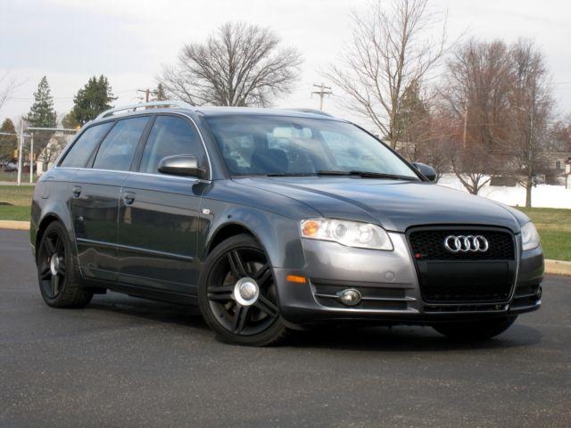Audi : A4 3.2 Quattro 2006 audi a 4 3.2 quattro avant s line sport wagon 1 original owner rare find