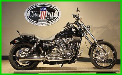 Harley-Davidson : Dyna 2013 fxdwg dyna wide glide vivid black one owner watch our video