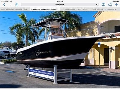 CENTER CONSOLE 2007 21' SEASWIRL STRIPER 2101 $25,900