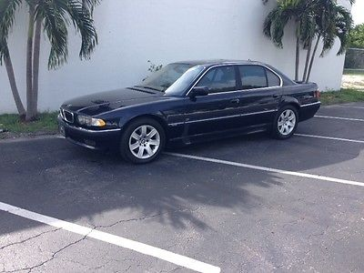BMW : 7-Series Bmw 740i  2001